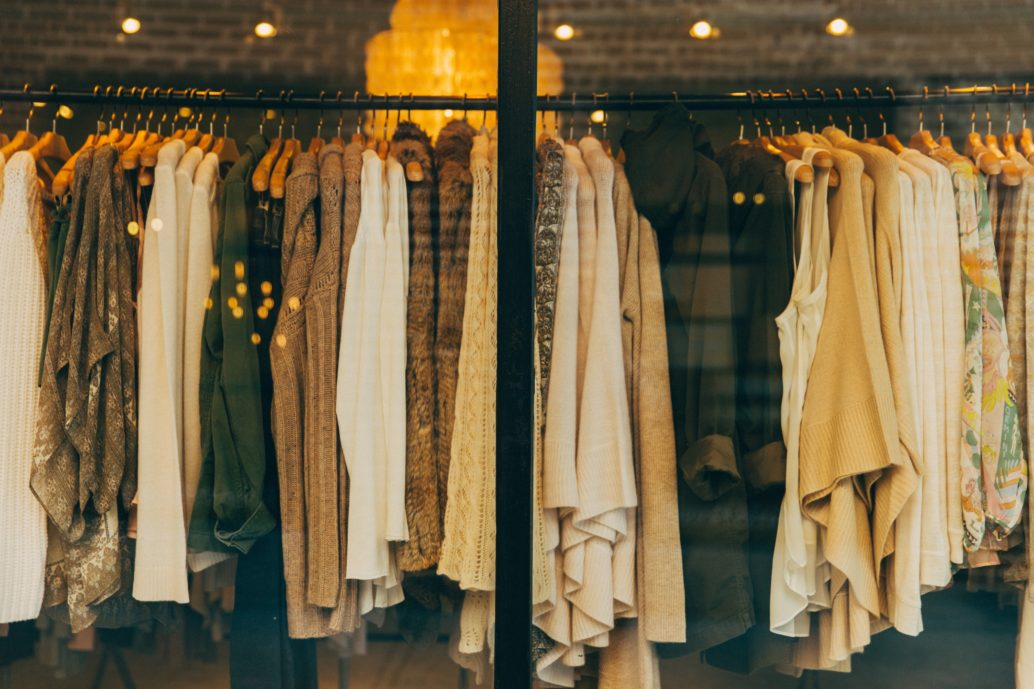 Clothing on Rack, image consultant