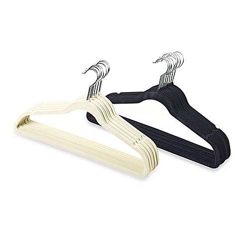 Slimline hangers are a fantastic way to keep your closet looking uniform and organized while protecting your clothes at the same time! -Roxanne Carne | Personal Stylist