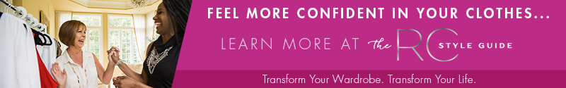 Want to feel more confident in your clothes? Join The RC Style Guide to transform your wardrobe and transform your life. Learn more at www.rc-stye.com - Roxanne Carne | Personal Stylist