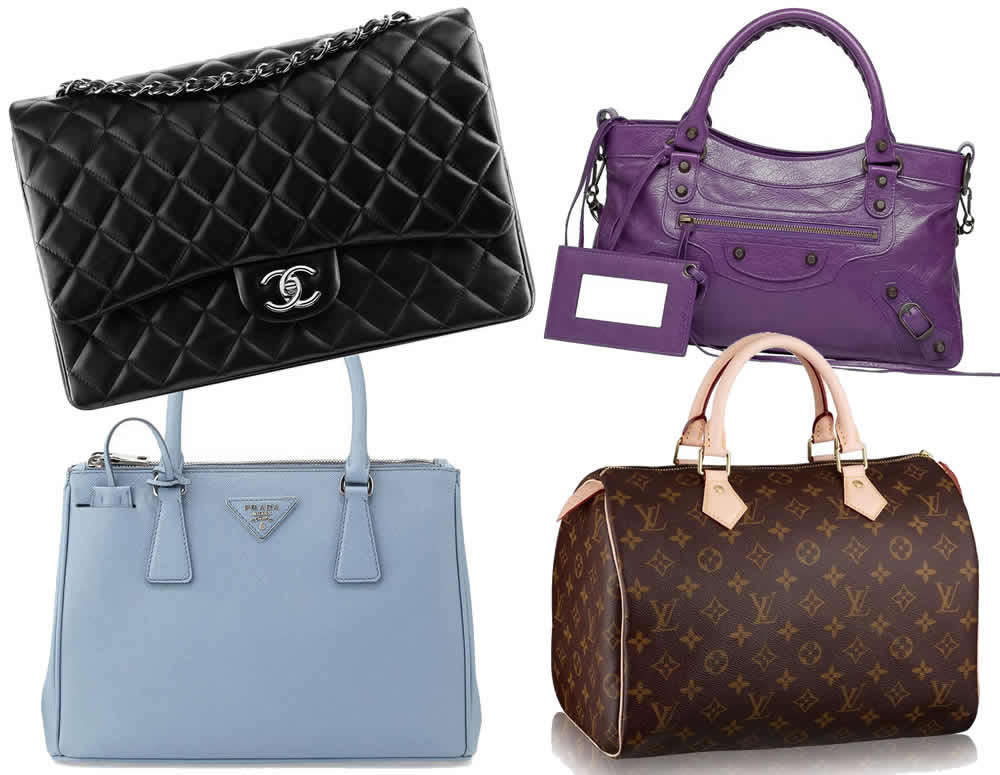 Women S Fashion Purse Collage
