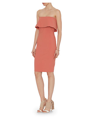 Intermix+Peach+Dress