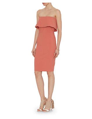 Intermix+Peach+Dress