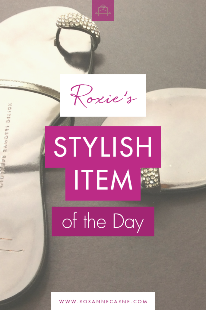 Check out these stylish sandals from Giuseppe Zanotti - Roxanne Carne Personal Stylist