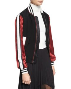 cinq-a-sept-ivy-striped-satin-sleeve-bomber-jacket-roxanne-carne-personal-stylist