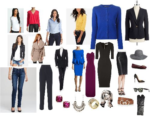 Core Wardrobe Pieces - www.roxannecarne.com