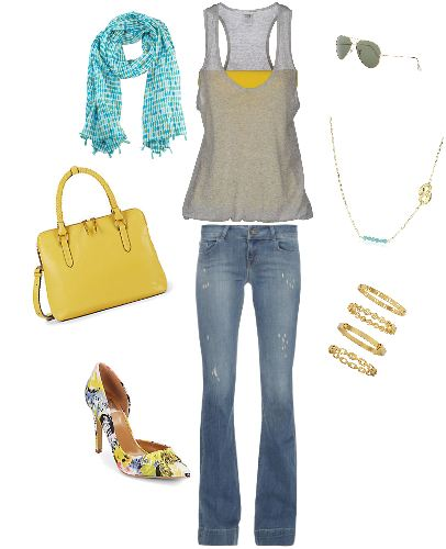 Fun Summer Look - www.roxannecarne.com