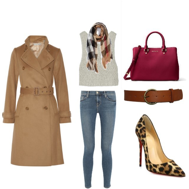Classic Trench Coat - www.roxannecarne.com