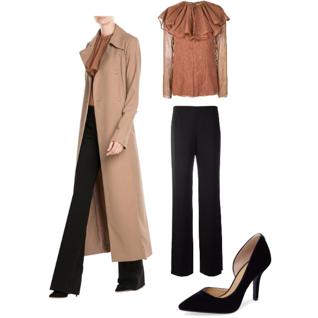 Camel Coat Look 3 - www.roxannecarne.com