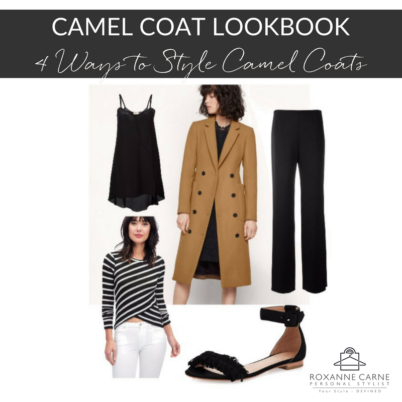 Camel Coat Lookbook - Roxanne Carne