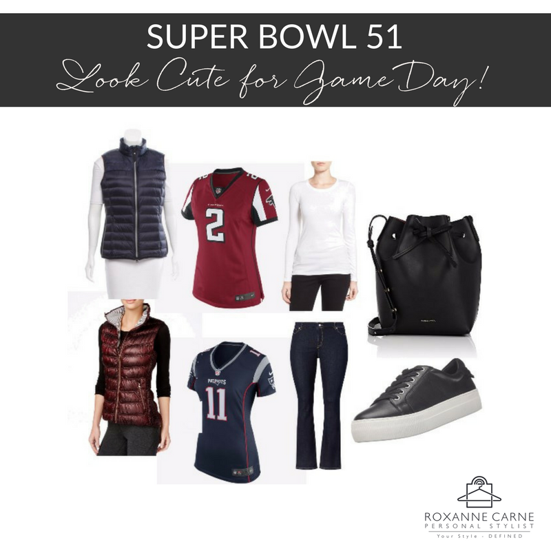 Super Bowl 51 Game Day Style - Roxanne Carne