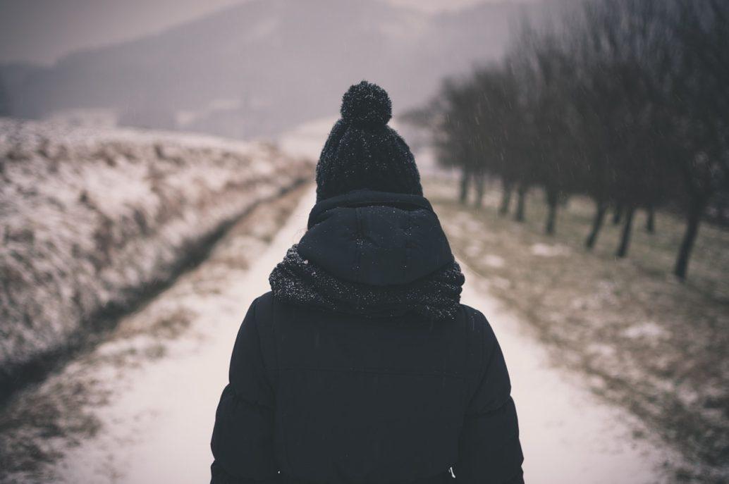Winter Hat & Coat - Roxanne Carne