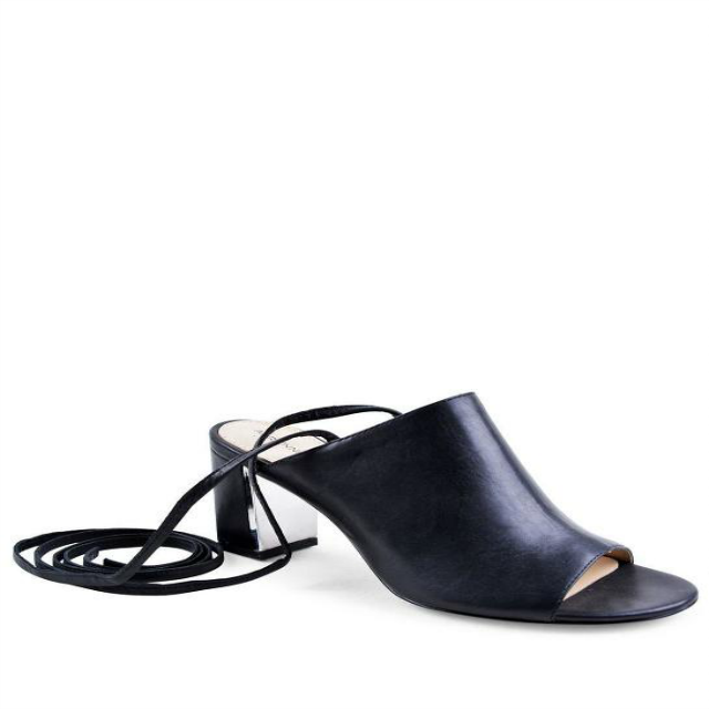 Adrienne Vittadini Leather Sandals - www.roxannecarne.com