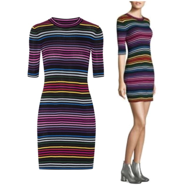 Marc Jacobs Striped Dress - www.roxannecarne.com