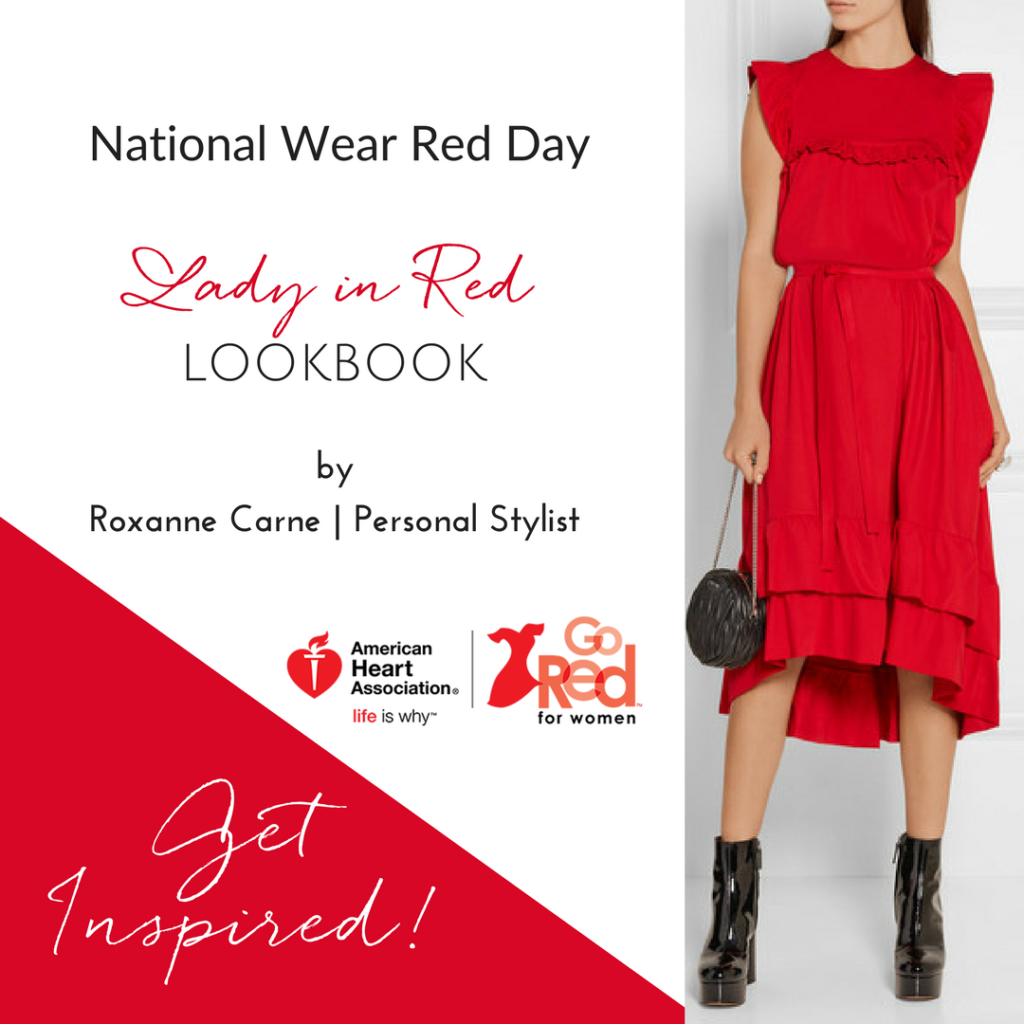 National Wear Red Day - Roxanne Carne