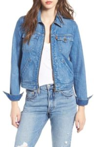 Spring Fashion - Levi's Trucker Denim Jacket - Nordstrom - www.roxannecarne.com