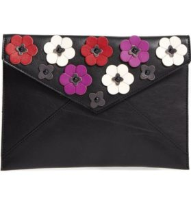 Rebecca Minkoff Leo Floral Applique Clutch - Nordstrom - www.roxannecarne.com