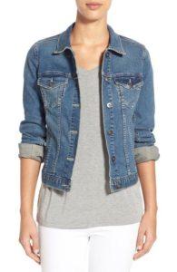 Spring Fashion - Vince Camuto Jean Jacket - Nordstrom - www.roxannecarne.com