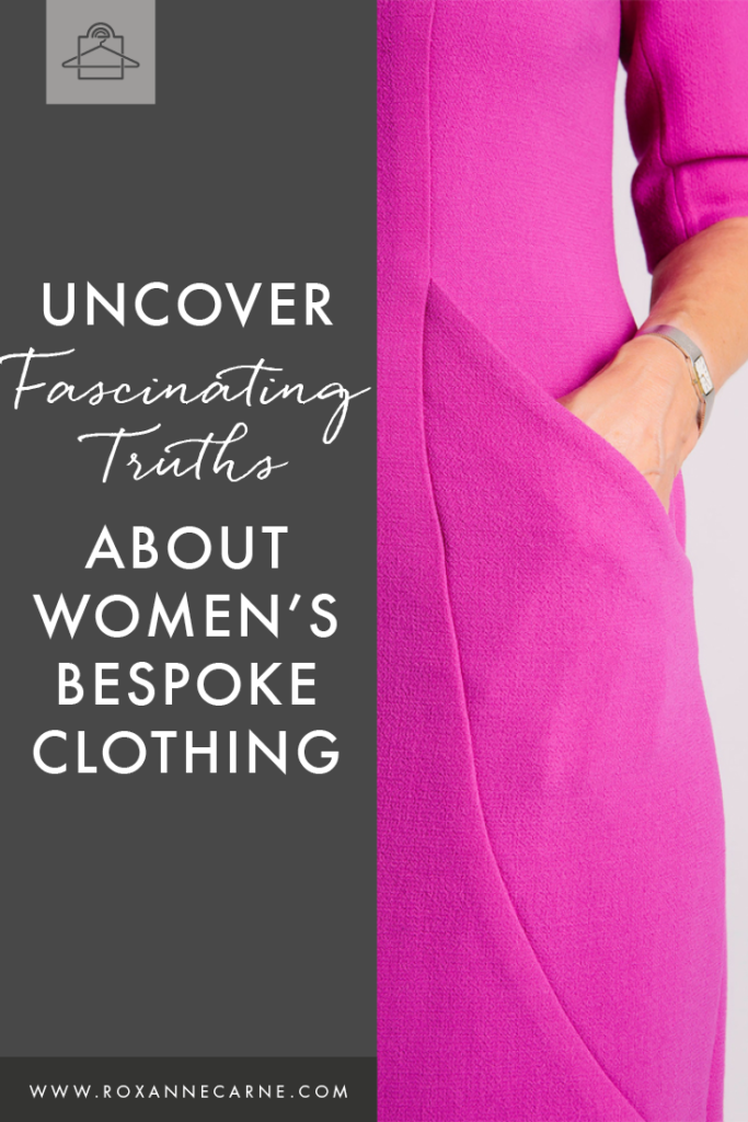 Want to incorporate bespoke clothing into your wardrobe style? Check out my thoughts on made-to-measure clothing for women! - Roxanne Carne | Personal Stylist