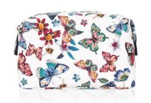 Mothers Day Gift Guide - Butterfly Printed Makeup Bag - Roxanne Carne Personal Stylist