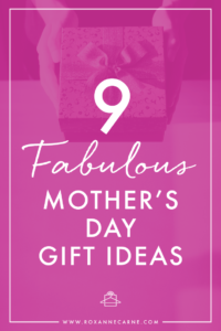 Stuck on what to buy for Mother's Day? Get great gift ideas from this Mother's Day Gift Guide featuring styling selections from Roxanne Carne | Personal Stylist!