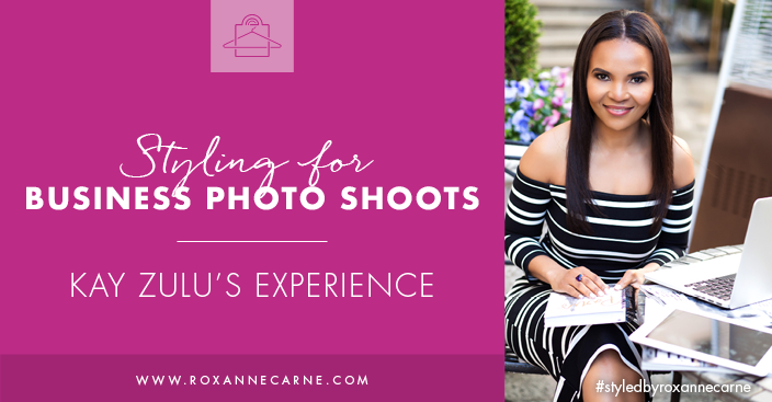 Want the scoop on wardrobe styling for business branding? Check out my client's experience with me, Roxanne Carne, Personal Stylist!