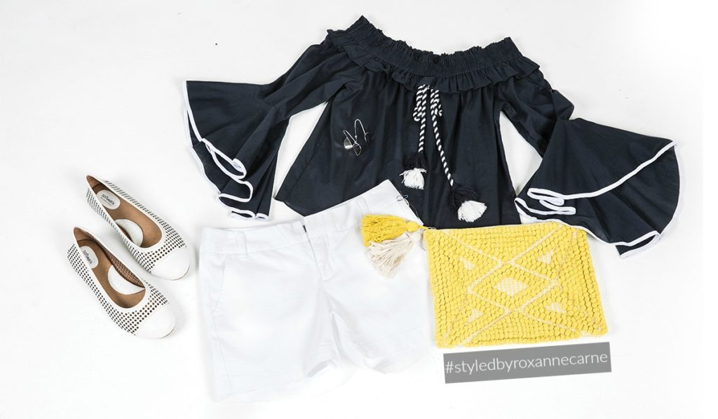 The Flirty Shorts and Top Look - Styled by Roxanne Carne | Personal Stylist for REVEAL Magazine