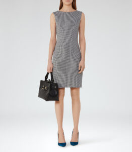 Never has summer corporate attire looked so good for women! Check out this simple yet stunning textured jersey dress by REISS. ~ Roxanne Carne | Personal Stylist