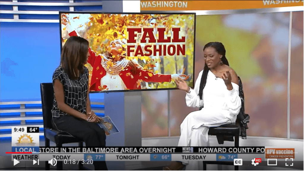 Check out Roxanne Carne, Personal Stylist on ABC7's Good Morning Washington sharing the scoop on how women can wear Fall 2017 casual trends!