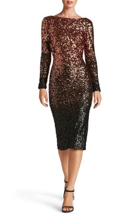Check out Roxanne Carne | Personal Stylist's Top Ten holiday dresses from Nordstrom! It's full of sparkles and metals - right in line with fall/winter 2017 fashion for women!